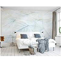 """カスタム3Dモダンファッション壁紙-北欧シンプルなエレガントなリビングルームのベッドルーム-壁壁画ラインの葉-壁壁画家の装飾300(W)x200cm(H)(9'2""""x5'11"""")"""