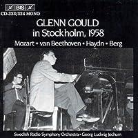 Glenn Gould In Stockholm 1958 by MOZART / BEETHOVEN / HAYDN (1995-12-06)