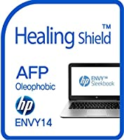 Healingshield スキンシール液晶保護フィルム Oleophobic AFP Clear Film for Hp Laptop Envy 14