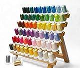 Simthread 63色120D/2 500M ポリエステル刺繍糸ミシン糸
