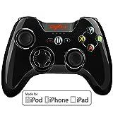 BEBONCOOL 無線Bluetooth ゲーム コントローラー ゲームパッド ジョイスティック Apple MFi認証 解体可能のクリップ iPhone, iPad, iPod touch対応(黒) PXN Qixun Tech