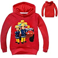 Color at Picture 7 4T 2-12Y 2018 New Year Children Cartoon Fireman Sam Clothes Spring Outdoor Kids Outwear Long Sleeve Jumper Causal Jacekt Coat