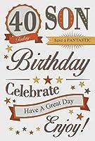 息子40歳の誕生日カード