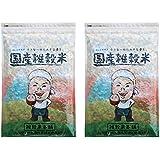 [Amazon限定ブランド] 明日への輝き39穀米ブレンド 1kg(500g×2袋) 国産 雑穀 雑穀米