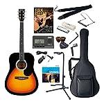 Sepia Crue アコースティックギター Amazonオリジナル13点セット ウェスタンタイプ WG-10/VS ヴィンテージサンバースト