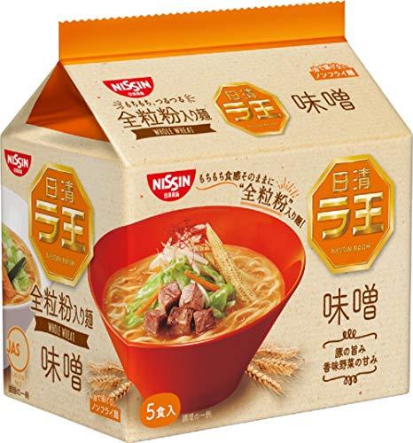 日清 ラ王 味噌 5食パック 495g×6袋