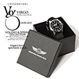 ヴァルゴ VIRGO Virgers force spectacle watch BLACK FREE
