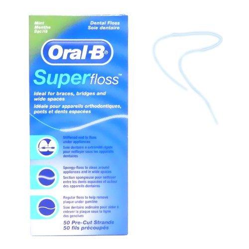 オーラルB スーパーフロス ミント Oral-B Super floss 50本