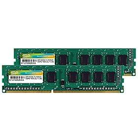 シリコンパワー デスクトップPC用メモリ  240Pin DDR3 1600 PC3-12800 8GB×2枚 永久保証 SP016GBLTU160N22