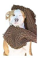 Soggy Doggy Super Shammy Super Absorbent Dog Towel, Dark Chocolate by Soggy Doggy