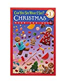Can You See What I See? Christmas Read-and-Seek (Scholastic Readers; Beginning Reader 50-250 Words Level 1) 画像