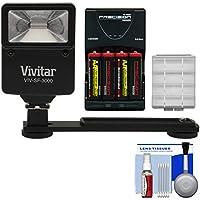 Essentialsバンドルfor Kodak Pixpro az251、az365、fz41、fz43、wp1with AA電池&充電器+フラッシュ&ブラケット+キット
