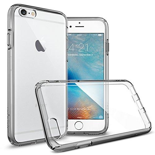 『【Spigen】iPhone6S ケース / iPhone6 ケース ウルトラ・ハイブリッド 米軍MIL規格取得 (スペース・クリスタル SGP11599)』の7枚目の画像