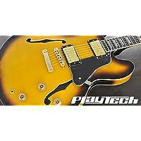 【国内正規品】 PLAYTECH プレイテック セミアコースティックギター SA500 Flame Sunburst