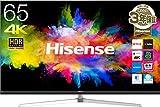 ハイセンス 65V型 4K ULED TV HDR対応 倍速対応 広色域 -メーカー3年保証/外付けHDD録画対応(裏番組録画)- HJ65N8000