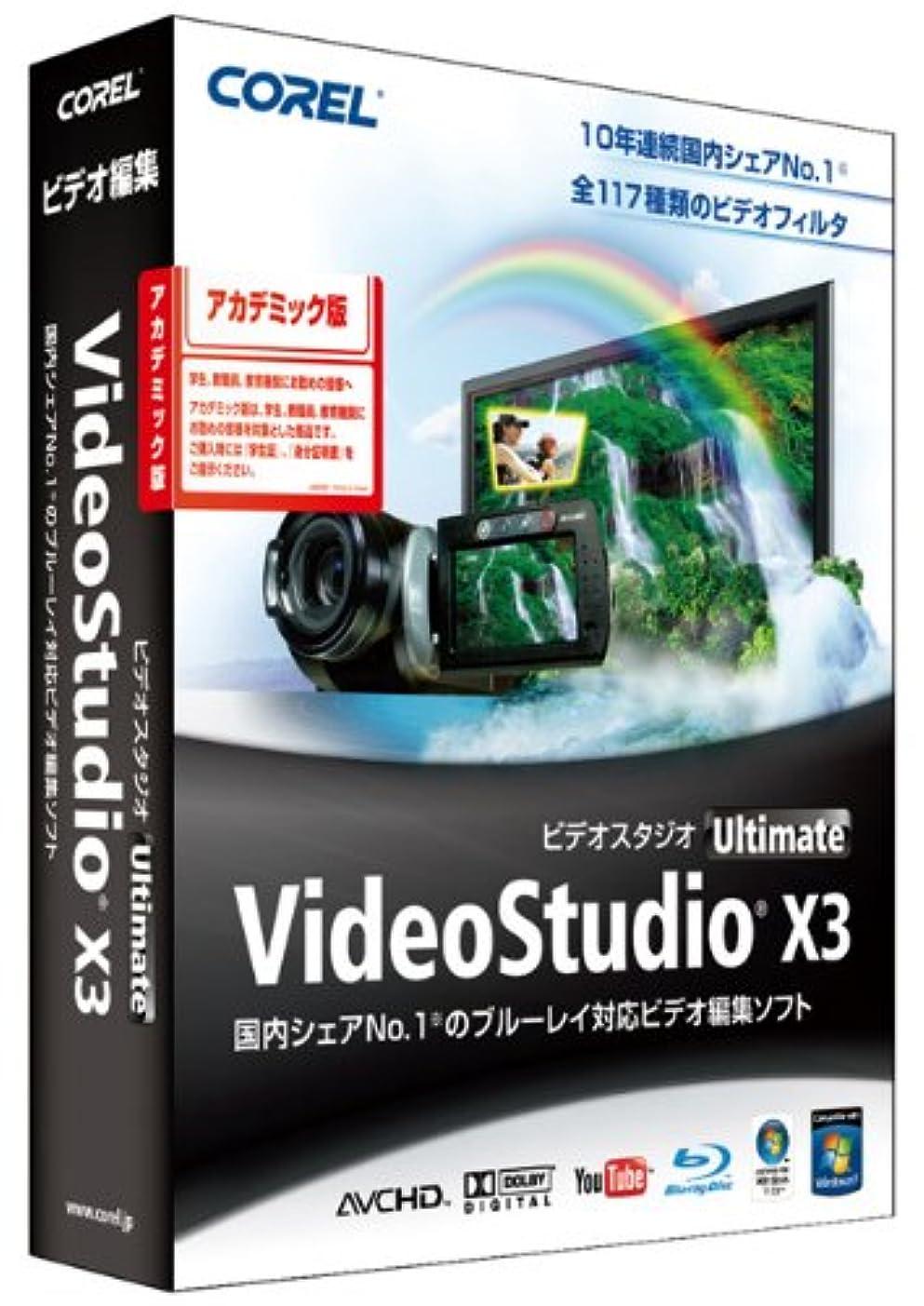 分注する箱固体VideoStudio Ultimate X3 アカデミック版