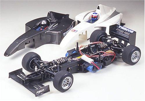 1/10 電動ラジオコントロールカー シリーズ F201シャーシキット(オリジナルボディ付)