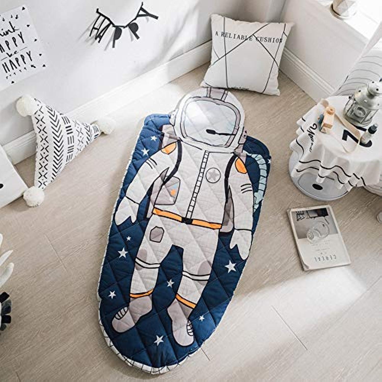 Preself ベイビー寝袋 寝冷え対策 スリーパー 出産祝い 70 * 150cm (宇宙飛行士寝袋)