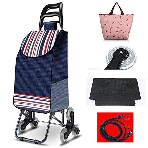 [XINXIKEJI]ショッピングカート ショッピングキャリー 折りたたみ 保温バッグ贈り 3輪/3...