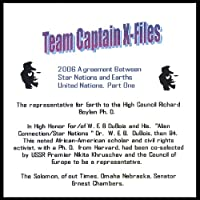 Team Captains X- File 2006 Agreement Between Star