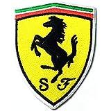 DreamHigh_skyland Ferrari car patch Ferrari Sports Cars Motorsport Racing Logo Patch Jacket T-Shirt Sew Iron on Patch Badge E