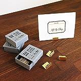 志成販売 ブラス カードスタンド 20個セット (プライスタグ) 306085