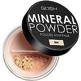 [GOSH ] おやっミネラルフルカバーファンデーションパウダーナチュラル004 - Gosh Mineral Full Coverage Foundation Powder Natural 004 [並行輸入品]