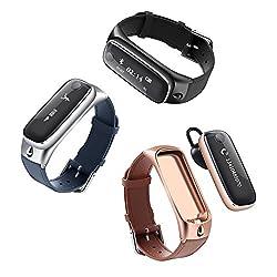 iSTYLE スマートウォッチ M6 mini スマートブレスレット&Bluetoothヘッドセットイヤホン 2-in-1 スマートバンド リストバンド スポーツトラッカー IOS&Androidスマートフォン対応