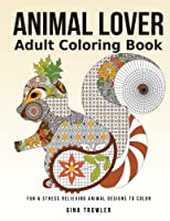 Animal Coloring Book for Adults [並行輸入品]