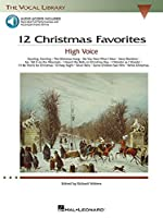 12 Christmas Favorites: High Voice (Vocal Library)