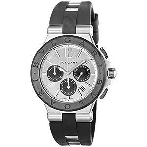 [ブルガリ]BVLGARI 腕時計 ディアゴノ シルバー文字盤 DG42C6SCVDCH メンズ 【並行輸入品】