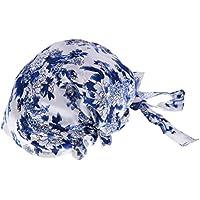 HOMYL Women Bow Headscarf Sleeping Bonnet Hair Wrap Silk Cap Headwear