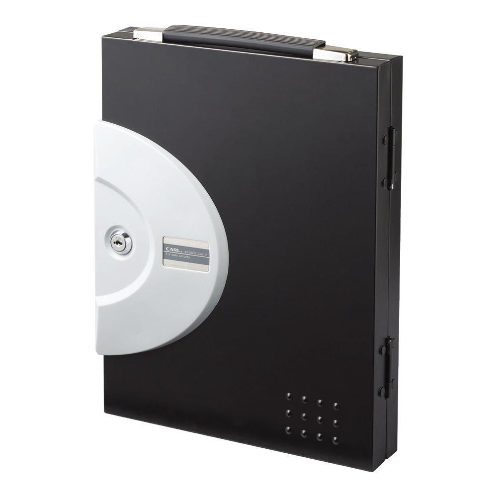 カール事務器 カール事務器 キーボックス 鍵収納数32個 黒 1個 CKB-32-K