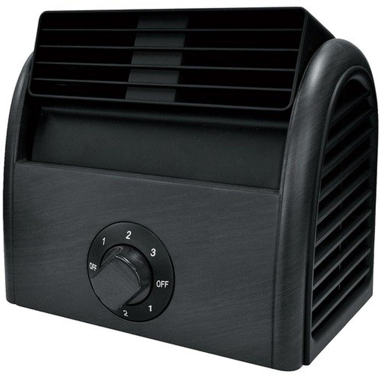 汚物国籍シンプトンイサム 木目調扇風機 NC42113 ブラック