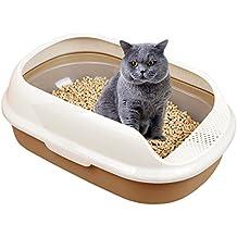 UHeng 3 Sifting Tray Cat Semi Closed Litter Box Anti Splash Toilet