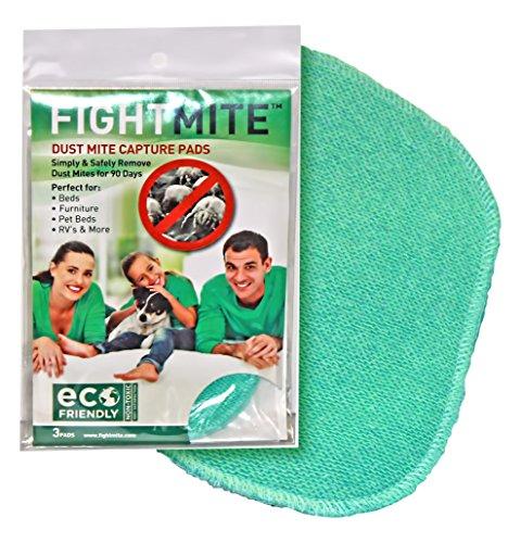 ダニ取りマット ファイト マイト ( Fight Mite ) 3枚入り ダニ 取りマット NON TOXIC 無毒無害、ECOで環境に優しい!アメリカQVCで大ブレイク!ECO FRIENDLY 100% SATISFACTION