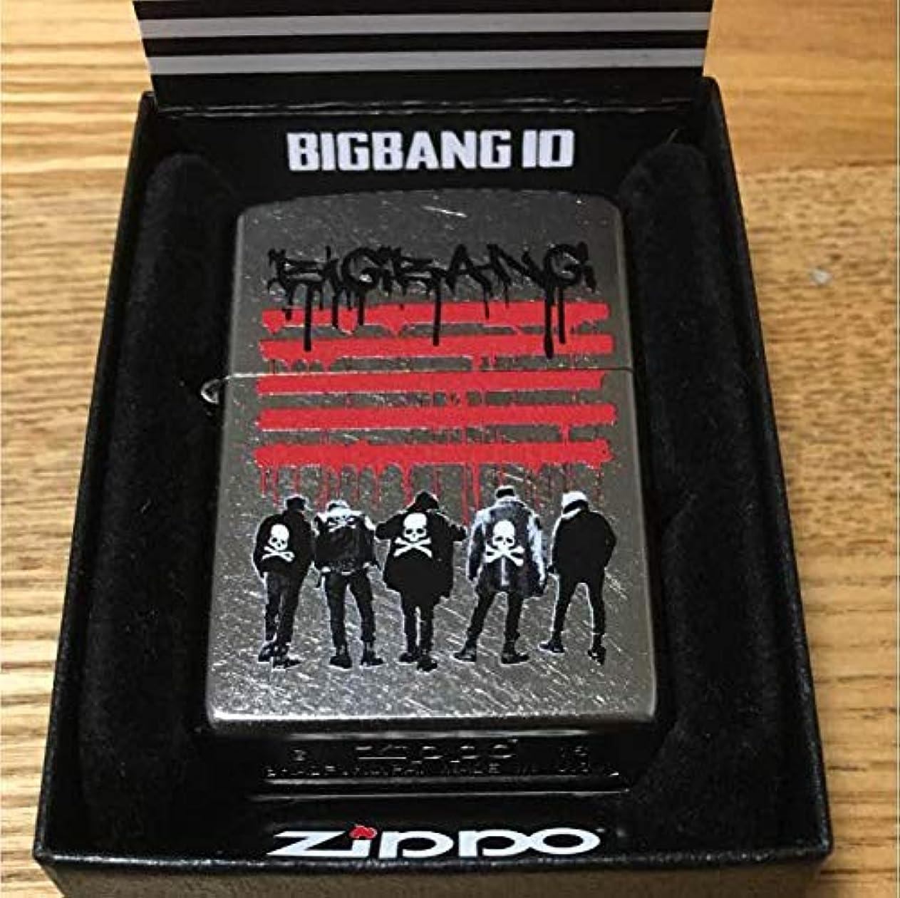 読み書きのできないフラッシュのように素早く羊の服を着た狼Zippo ジッポ 10th BIGBANG ビックバン ~~