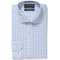 Van Heusen Men's Euro Tailored Fit Multi Check Shirt