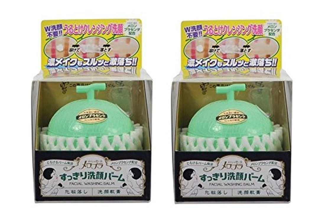 ダイエット虫を数える記念メロプラ すっきり洗顔バーム 100g×2個セット