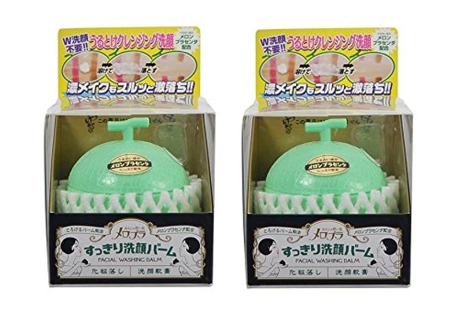 社交的玉ねぎ護衛メロプラ すっきり洗顔バーム 100g×2個セット