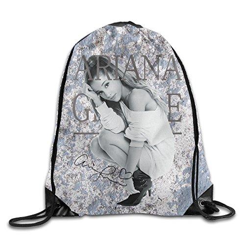 ZMONO メンズ 巾着バックパック アリアナ グランデ 人物 画像 プリント スポーツ リュックサック ファッション プリント付き 2way