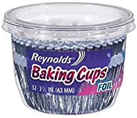 Reynolds Wrap Foil Baking Cups 32 Count Total 256 Cups by Reynolds