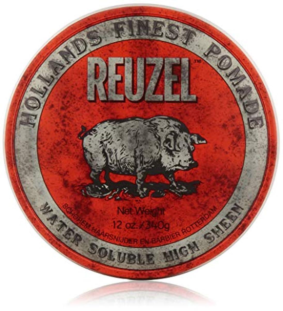 些細なプリーツ眠っているREUZEL Hair Pomade Hog, Red, 12 oz by REUZEL