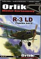 ORLIK 1:33 R-3 LD Tupolew Ant-3(Card Model)
