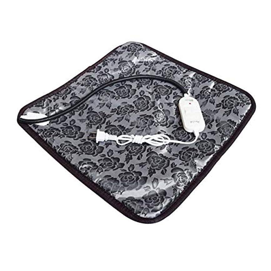 繰り返したバスト理想的にはSaikogoods 快適な防水オックスフォード布ペット電気パッドは冬は暖かい温水暖房マット犬猫バニーベッドをキープブランケット 黒