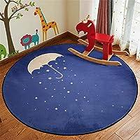 マット 整形 失敗 ダル マット絨毯 ひかない 80cm 円形のヨーロッパのカーペットの寝室のコンピュータチェアマットの方法布の居間のカーペットポリエステルポリエステルポリエステル