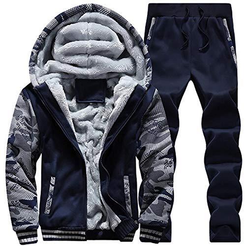 スウェット ズボン スポーツスーツ カーディガン 上下スーツ 2点セット パーカー トレーナー しんしふく 大きいサイズ 冬 防寒