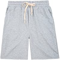 PAUL JONES Men's Casual Classic Fit Jogging Gym Shorts