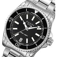 グッチ GUCCI ダイヴ DIVE クオーツ ユニセックス 腕時計 YA136403 ブラック [並行輸入品]