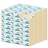 天然竹パルプトイレットペーパー、上質で滑らか、45パック/ケース、300シート/パック (サイズ : 45 packs)